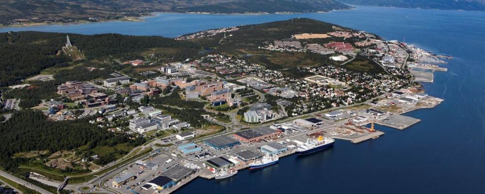 Bilde av Breivika havneområdet